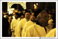 Catania: Festa di Sant'Agata. 5 Febbraio 2005: Festa della Patrona di Catania, Sant'Agata. Via Etnea. Folla di fedeli.  - Catania (2238 clic)