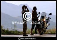 Agira. Motociclisti in partenza.  - Agira (1284 clic)