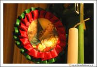 Catania: Festa di Sant'Agata. 5 Febbraio 2005: Festa della Patrona di Catania, Sant'Agata. Ceroni in vendita lungo le vie del centro storico.  - Catania (2077 clic)