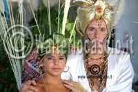 Agira. Carnevale Estivo di Agira 2006. Unica manifestazione del carnevale Estivo in Sicilia. Si svolge ogni anno a meta' Agosto.  - Agira (1357 clic)