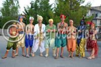 Agira. Carnevale Estivo di Agira 2006. Unica manifestazione del carnevale Estivo in Sicilia. Si svolge ogni anno a meta' Agosto.  - Agira (1354 clic)