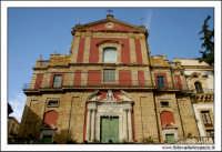 Caltanissetta. Chiesa San'Agata al Collegio in Corso Umberto I. Vista prospettica dal basso. Color Print #3  - Caltanissetta (2774 clic)