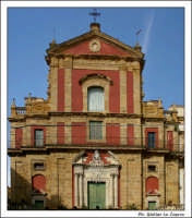 Caltanissetta. Chiesa San'Agata al Collegio in Corso Umberto I. Vista frontale. Color #6  - Caltanissetta (2889 clic)
