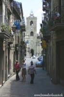 Troina. Vista della cattedrale Maria SS. Assunta. Foto 96  - Troina (6910 clic)