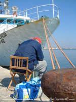 Marsala, pescatore solitario.  - Marsala (4363 clic)