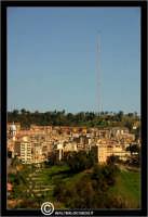 Caltanissetta. Panorama di Caltanissetta vista della Contrada Santa Lucia.  - Caltanissetta (2781 clic)