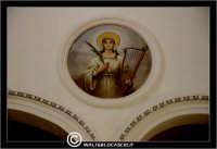 Caltanissetta. Chiesa di San Domenico. Particolare. dipinto su navata centrale.  - Caltanissetta (2766 clic)