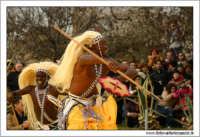 Agrigento. Festa del Mandorlo in fiore. Edizione 2006. Gruppi folkloristici si esibiscono durante la premiazione.   - Agrigento (1868 clic)