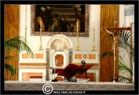 Caltanissetta. Chiesa di San Domenico. Altare. Particolare.  - Caltanissetta (2706 clic)