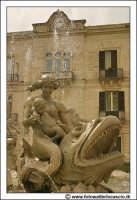 Siracusa: Ortigia - Particolare della Fontana di Diana - G. Moschetti anno 1904. #1  - Siracusa (2202 clic)