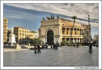 Palermo. Piazza Castelnuovo. Teatro Politeama Garibaldi #1. PALERMO Walter Lo Cascio