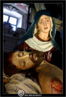 Caltanissetta. Le Vare del Giovedi Santo a Caltanissetta. Giovedi' Santo a Caltanissetta, edizione 2006. Le vare all'interno della Cattedrale Santa Maria la Nova.  - Caltanissetta (2660 clic)