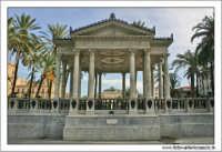 Palermo.  Piazza Castelnuovo. Il Tempietto della musica. PALERMO Walter Lo Cascio