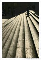 Palermo.  Scalinata della Posta Centrale. Via Roma PALERMO Walter Lo Cascio