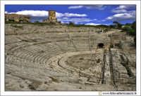 Siracusa: Teatro Greco. (V secolo a.c.) che è il più grande teatro della Sicilia ed uno dei maggiori dell'intero mondo greco.  - Siracusa (6245 clic)