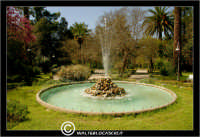 Caltanissetta. Villa Cordova. La fontana della Villa Cordova a Caltanissetta.  - Caltanissetta (3601 clic)