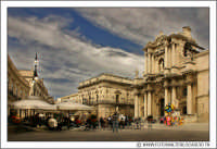 Siracusa - Ortigia: Piazza Duomo. Visione d'insieme. #1  - Siracusa (2522 clic)