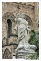 Statue. La Cattedrale di Palermo #10 PALERMO Walter Lo Cascio