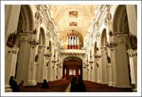 Mazzarino (CL). Chiesa Madre. Interno, navata centrale.  - Mazzarino (5631 clic)