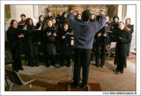 Agira. Natale 2005. Chiesa Santa Margherita. Il coro.  - Agira (3459 clic)