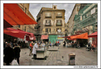Palermo.  Antico mercato storico della VUCCIRIA. Piazzetta della Vucciria. PALERMO Walter Lo Casci