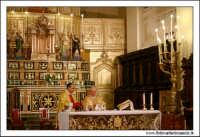 Agira. Natale 2005. Chiesa Santa Margherita. La funzione religiosa.  - Agira (1941 clic)