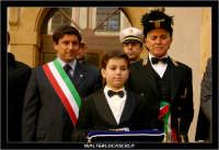 Caltanissetta.  Mercoledi' Santo a Caltanissetta. Il Sindaco Salvatore Messana e il Capitano della Real Maestranza.  - Caltanissetta (3404 clic)