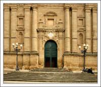 Mazzarino (CL). Chiesa Madre. Prospetto #2.  MAZZARINO Walter Lo Cascio