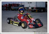 Caltanissetta, Kartodromo in c/da Misteci. Domenico, un piccolo pilota di Go-Kart alla fine di una corsa.  - Caltanissetta (2411 clic)