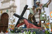 Le vare del Giovedì Santo a Caltanissetta. LA PRIMA CADUTA  - Caltanissetta (5408 clic)