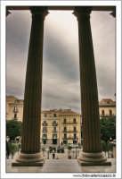 Palermo.  Paizza Giuseppe verdi, vista dal Teatro Massimo. PALERMO Walter Lo Cascio