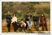 Agrigento. Festa del Mandorlo in fiore. Attesa ch inizi la festa.....  - Agrigento (2135 clic)