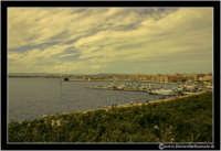 Siracusa - Ortigia - Lungomare: Panorama del lungomare.  - Siracusa (3072 clic)