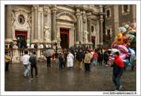 Catania. Festa di Sant'Agata, 2006. Piazza Duomo.  - Catania (1849 clic)