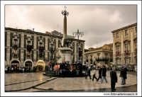 Catania. Festa di Sant'Agata, 2006. Piazza Duomo.  - Catania (1820 clic)