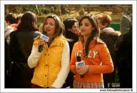 Agrigento. Festa del Mandorlo in fiore. Premiazione finale. Due croniste televisive di Mediterranea SAT  - Agrigento (2761 clic)