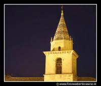 Agira: Il campanile della Chiesa Abazia. By night  - Agira (3044 clic)