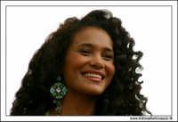Agrigento. Festa del Mandorlo in fiore. Miss Italia del 1996 Denny Mendez.  - Agrigento (2141 clic)