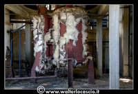 Caltanissetta: Miniera Trabonella. Reportage sulle miniere di zolfo di Caltanissetta. Stabilimenti abbandonati.  - Caltanissetta (1927 clic)