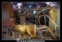 Caltanissetta: Miniera Trabonella. Reportage sulle miniere di zolfo di Caltanissetta. Stabilimenti a