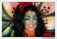 Agira. Carnevale di Agira. Edizione 2006 Carnevale Agirino. Ragazza in maschera.  - Agira (1475 clic)