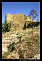 Assoro: Castello Federiciano secolo XIII al parco urbano.   - Assoro (3042 clic)