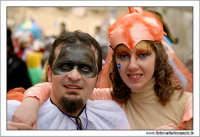 Agira. Carnevale di Agira. Edizione 2006 Carnevale Agirino. Ragazzi in maschera.  - Agira (1376 clic)