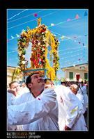 Mazzarino - Festa del SS. Crocifisso dell'Olmo. Signore dell'Olmo. Anno 2010. Foto Walter Lo Cascio. www.walterlocascio.it  - Mazzarino (3562 clic)