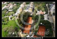 Caltanissetta. Foto aeree dei campetti di Tennis del Tennis Club Villa Amedeo Caltanissetta. Photo Walter Lo Cascio www.walterlocascio.it  - Caltanissetta (5945 clic)