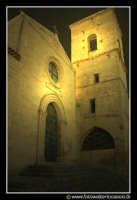 Assoro: Basilica di san Leone con il suo campanile. By Night.  - Assoro (3577 clic)