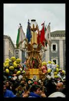 Catania. Festa di Sant'Agata, 2006. La candelora.  - Catania (1921 clic)