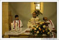 Caltanissetta, Chiesa di Santo Spirito. Interno. Durante la cerimonia di una messa Domenicale. CALTA