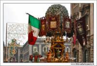 Catania. Festa di Sant'Agata, 2006. Candelore in Via Etnea. Color  - Catania (2923 clic)