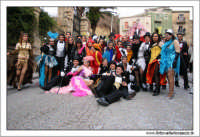 Agira. Carnevale di Agira. Edizione 2006 Carnevale Agirino. Foto di gruppo del carro MOULIN ROUGE.  - Agira (7418 clic)